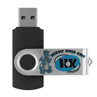 英雄的な内部の子供 USBフラッシュドライブ