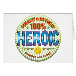 英雄的全く カード