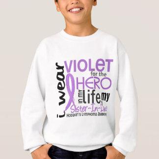 英雄2の義理の姉妹のHodgkinのリンパ腫のためのバイオレット スウェットシャツ
