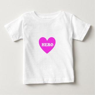 英雄 ベビーTシャツ