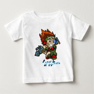英雄-ロジャー兵士 ベビーTシャツ