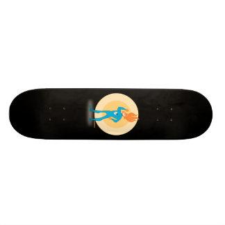 英雄-炎のスケートボード オリジナルスケートボード