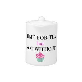 茶のためのしかしないケーキのない時間