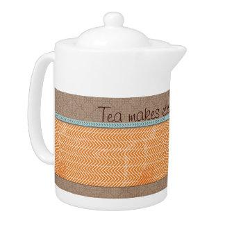 茶はすべてによりよいティーポットの茶ポットをします