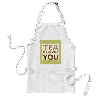 茶は復興させます! スタンダードエプロン