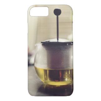 茶カバー王室のな色 iPhone 8/7ケース