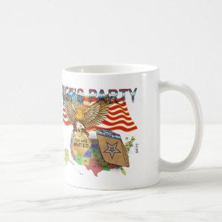 茶パーティー版1 コーヒーマグカップ