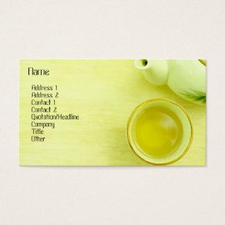 茶プロフィールカード 名刺