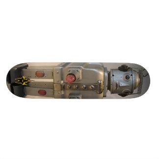 茶ポットのロボット スケートボード