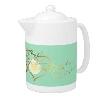 茶ポット、バレンタインデー