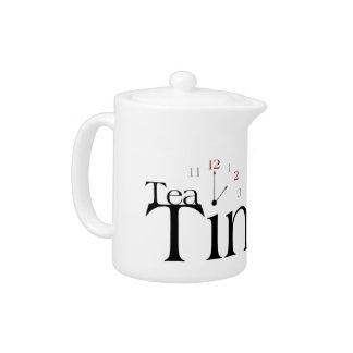 茶時間ティーポット