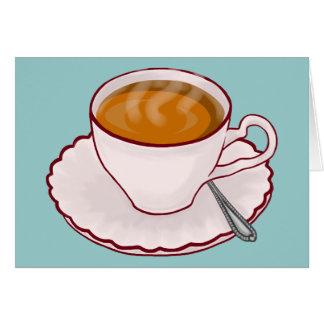 茶時間メッセージカード カード