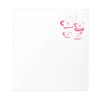 茶時間メモ帳 ノートパッド