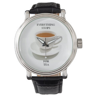 茶腕時計の時間 腕時計