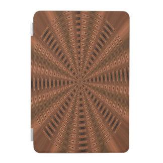 茶色がかった抽象的でモダンなパターン iPad MINIカバー