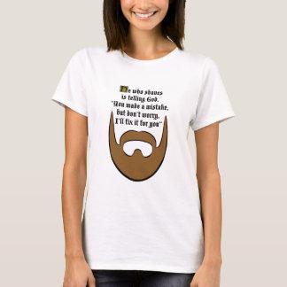 茶色のひげ Tシャツ