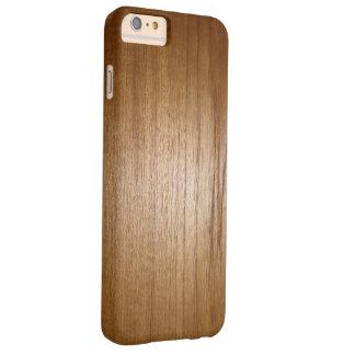 茶色の木板の質感 BARELY THERE iPhone 6 PLUS ケース