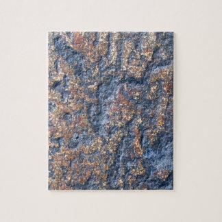 茶色の石の抽象的なイメージ ジグソーパズル
