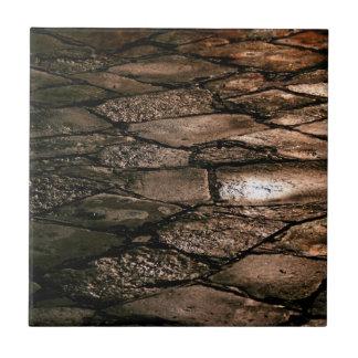 茶色の舗装パターン タイル