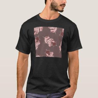 茶色の葉 Tシャツ