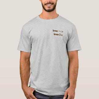 茶色の鶏 Tシャツ