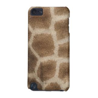 茶色点が付いているキリンの皮、アフリカからの写真 iPod TOUCH 5G ケース
