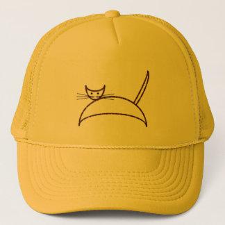 茶色猫の帽子 キャップ