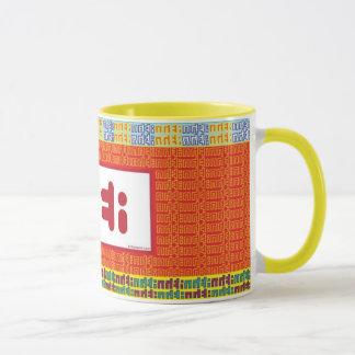"""""""茶""""マグ: 赤い マグカップ"""