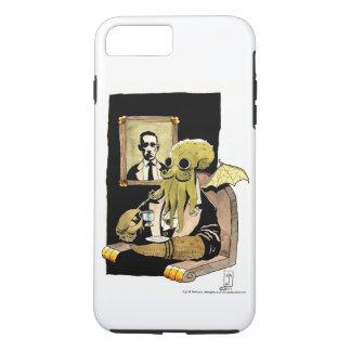 茶-携帯電話の箱--を取るCthulhu iPhone 8 Plus/7 Plusケース