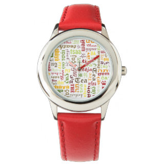 茶 腕時計