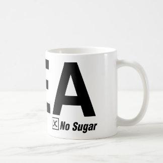 茶、黒、砂糖無し コーヒーマグカップ