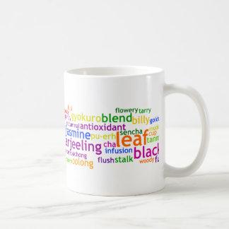茶Wordle コーヒーマグカップ