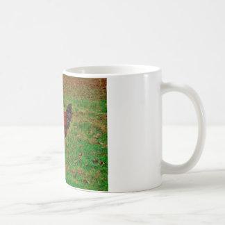 草のオンドリ コーヒーマグカップ