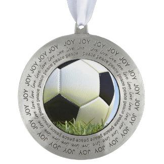 草のサッカーボール オーナメント