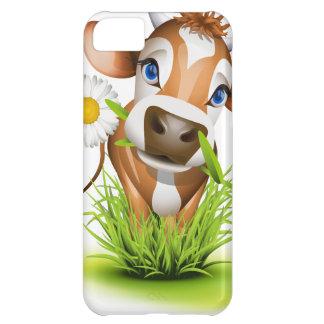 草のジャージー牛 iPhone5Cケース