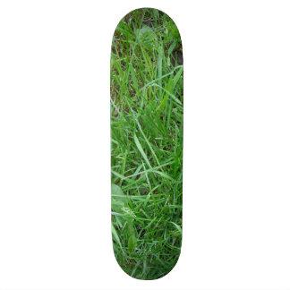 草のスケートボード スケボーデッキ