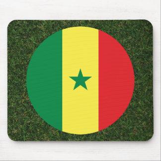 草のセネガルの旗 マウスパッド