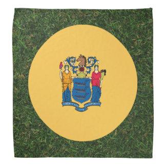 草のニュージャージーの旗 バンダナ