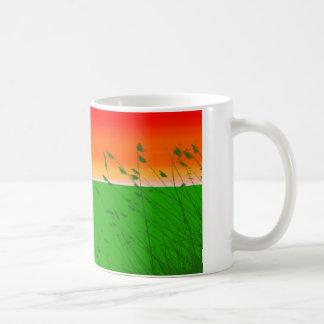 草のマグ コーヒーマグカップ