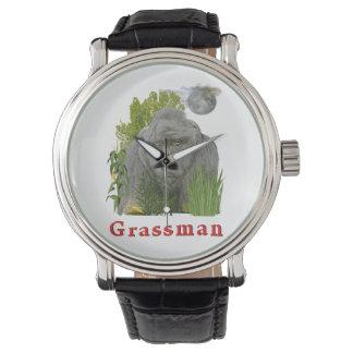 草の人 腕時計