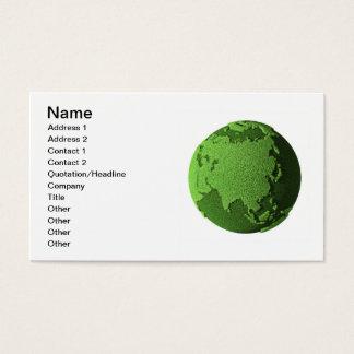 草の地球-アジア 名刺