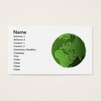 草の地球-ヨーロッパ 名刺