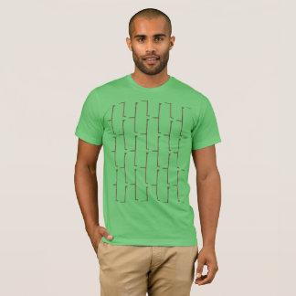 草の灰色の煉瓦 Tシャツ