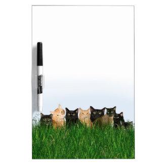 草の猫ちゃん ホワイトボード