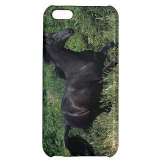 草の純血種の馬のランニング iPhone5C カバー