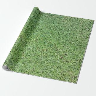 草の芝生を切って下さい ラッピングペーパー