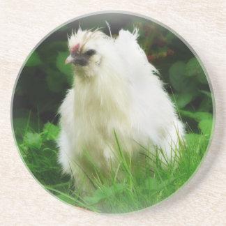 草の鶏 コースター