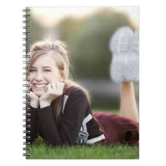 草の10代のなリラックス ノートブック
