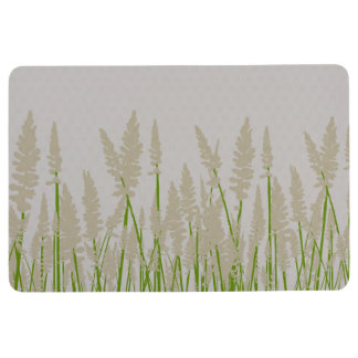 草は装飾的なフロアマット開きます フロアマット