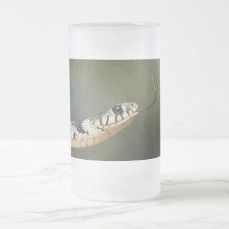 草ヘビ フロストグラスビールジョッキ